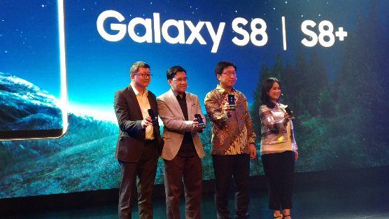 Peluncuran Samsung Galaxy S8 dan S8+ di Indonesia