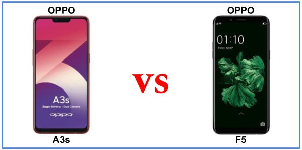 Ini Perbandingan Oppo A3s dan Oppo F5, Bagus yang Mana?