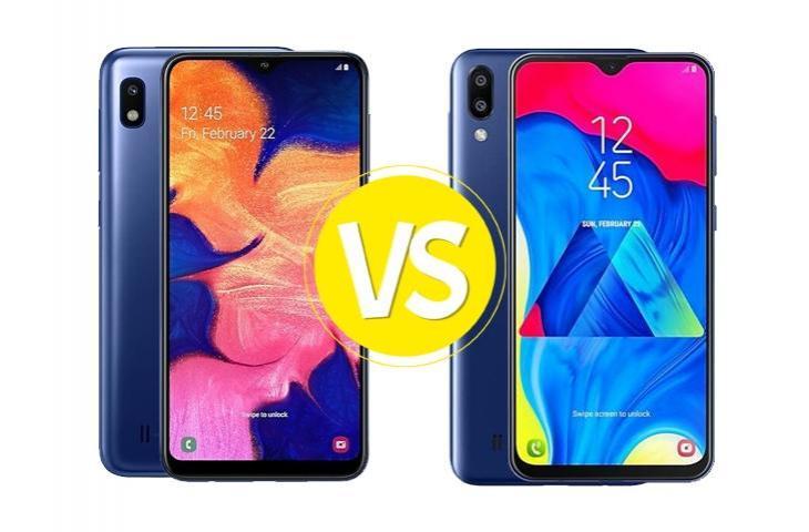 Perbandingan Hp Samsung M10 dan A10, Bagus yang Mana?