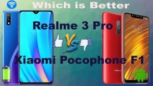 Pocophone F1 vs Realme 3 Pro