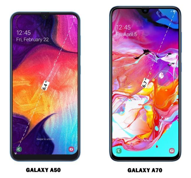 Catat Sebelum Membeli! Ini Perbandingan Hp Samsung A50 dan A70