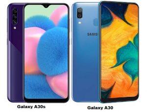 Samsung-Galaxy-A30s Vs Galaxy A30