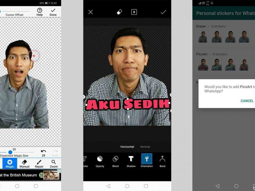 Cara Membuat Sticker WhatsApp di Android dan iPhone
