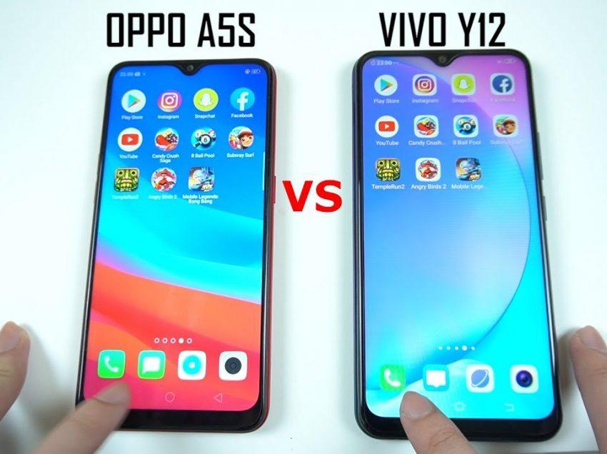 Perbandingan Vivo Y12 dengan Oppo A5s, Mana Lebih Bagus?